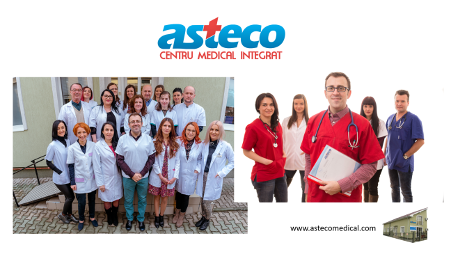 Echipa Centrul Medical Asteco Cluj Napoca